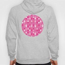 Harlequin Print Pinks Hoody