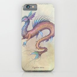 Griffin of the Sea iPhone Case