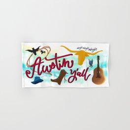 Austin, y'all Hand & Bath Towel