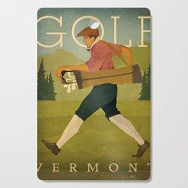 Vintage Golf Cutting Board