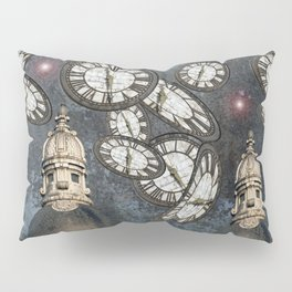 """Les gardiens du temps arrêté"" / ""The guardians of the time stopped"" Pillow Sham"