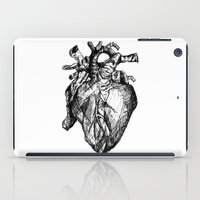 anatomical heart iPad Cases featuring heart by Isa Ribeiro