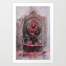 Bodhinath Shrine - 5 of 6 Art Print