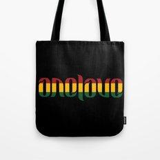 One Love Ambigram  Tote Bag