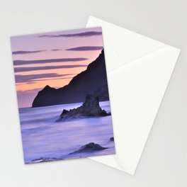 """Purple sea"" Stationery Cards"
