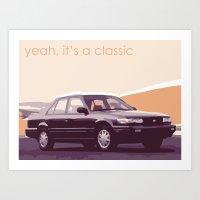 90s Classic Art Print