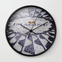 You may say I am a dreamer Wall Clock