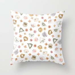 primates Throw Pillow