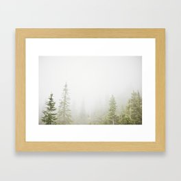 GROUSE MOUNTAIN, BC Framed Art Print