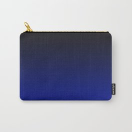 Cobalt blue Ombre Carry-All Pouch