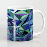 jenna kutcher Mugs featuring Starfall by Jenna Mhairi