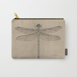Dragonfly Fossil Dos Carry-All Pouch