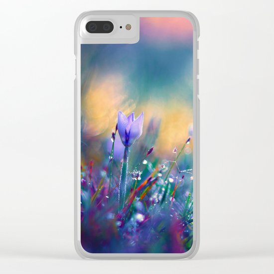 Begin of a Story Clear iPhone Case