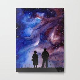 Galaxy Art, Cosmos Art, Grandparents Art Metal Print