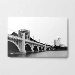 Tempe Town Lake Bridge Metal Print