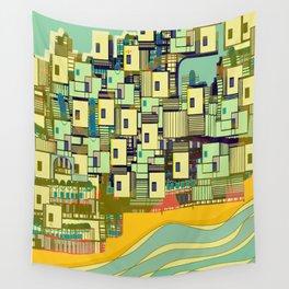 Mediterranean Coast Wall Tapestry