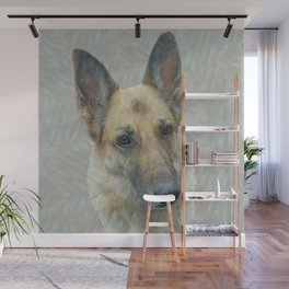 Unconditional Love Holly German Shepard Wall Mural