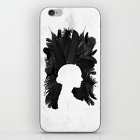 black swan iPhone & iPod Skins featuring Black Swan by Bill Pyle