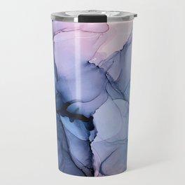 Captivating 1 - Alcohol Ink Painting Travel Mug