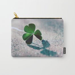 Green Clover Shadow Carry-All Pouch
