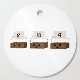 Brownie Points Cutting Board