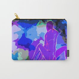 Indigo Blues Carry-All Pouch