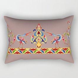 Egret Illumination Rectangular Pillow