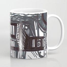 She wandered lowly as a cow. Coffee Mug