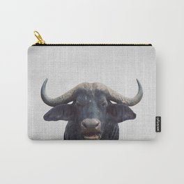 African Buffalo - Colorful Carry-All Pouch