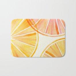Sunny Citrus Bath Mat