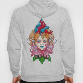 Girl With Heart 2 Hoody