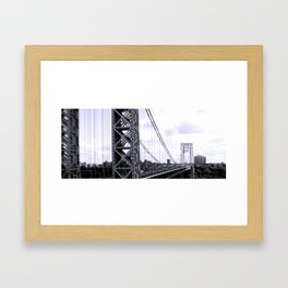 Which is the right way? Framed Art Print