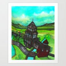 Terra Magica Art Print