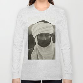 'African pride' - Mohamed from Timbuktu Long Sleeve T-shirt