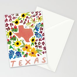 Texas + Florals Stationery Cards