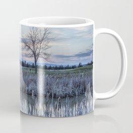 Dusk at the Pond Coffee Mug