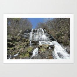Waterfall allure Art Print