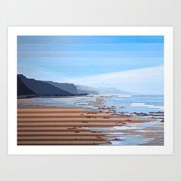 Jalama Beach Landscape Art Print