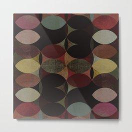 Circles V Metal Print