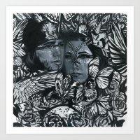 tyler and sicily  Art Print