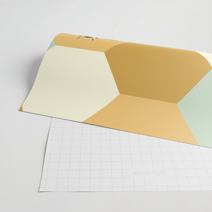 Beehive Wrapping Paper