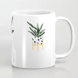 Plant Screen Print Trio Coffee Mug