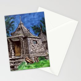 Hagrid's Hut Stationery Cards