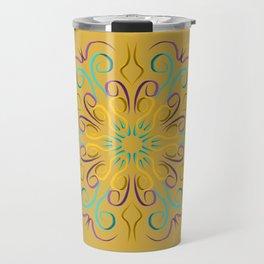 Stronger (Ocre) Travel Mug