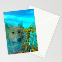 THE DAY OF THE WHITE WOLF Stationery Cards