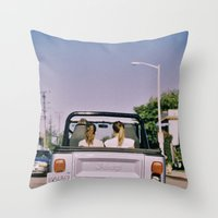 jeep Throw Pillows featuring Jeep by Warren Silveira + Stay Rustic