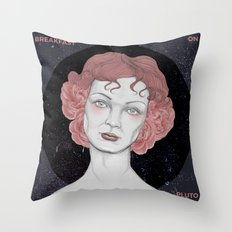 Breakfast on Pluto Throw Pillow