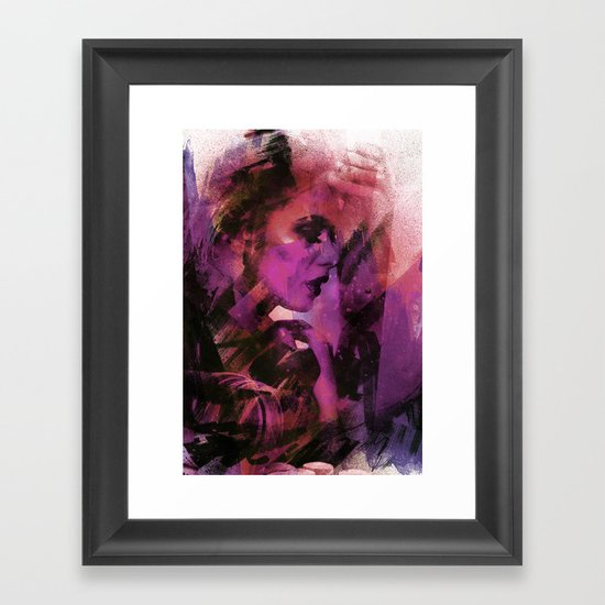 sb Framed Art Print