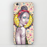 sunshine iPhone & iPod Skins featuring Sunshine by Peter Fulop
