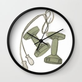 Exercise Wall Clock